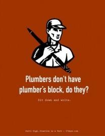 plumbers block