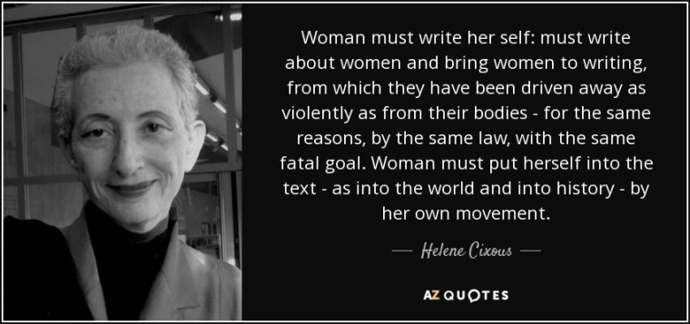 women writing