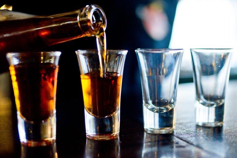 photo of alcoholic beverage