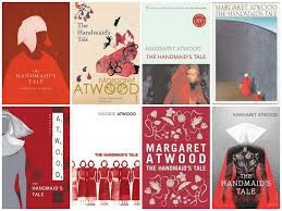 photo of margaret atwoods book covers.jpg